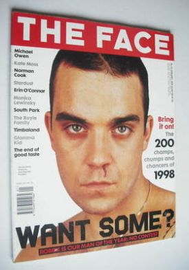 <!--1999-01-->The Face magazine - Robbie Williams cover (January 1999 - Vol
