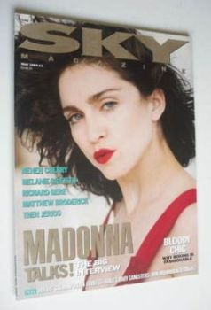 Sky magazine - Madonna cover (May 1989)