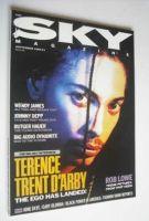 <!--1989-09-->Sky magazine - Terence Trent D'Arby cover (September 1989)