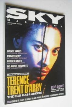 Sky magazine - Terence Trent D'Arby cover (September 1989)