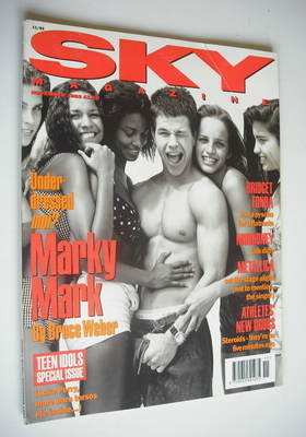 <!--1992-11-->Sky magazine - Marky Mark cover (November 1992)