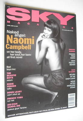 <!--1994-06-->Sky magazine - Naomi Campbell (June 1994)