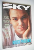 <!--1988-09-->Sky magazine - River Phoenix cover (September 1988 - No 25)