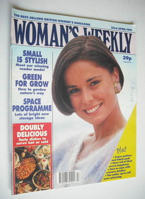 <!--1991-04-23-->Woman's Weekly magazine (23 April 1991)