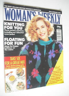 <!--1991-01-29-->Woman's Weekly magazine (29 January 1991)