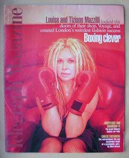 <!--1998-08-01-->Telegraph magazine - Boxing Clever cover (1 August 1998)