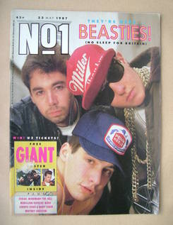 <!--1987-05-23-->No 1 Magazine - The Beastie Boys cover (23 May 1987)