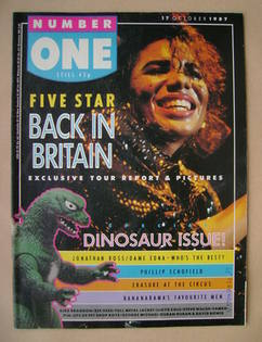 <!--1987-10-17-->NUMBER ONE Magazine - 17 October 1987