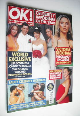 <!--2004-09-07-->OK! magazine - Lisa Scott-Lee and Johnny Shentall wedding