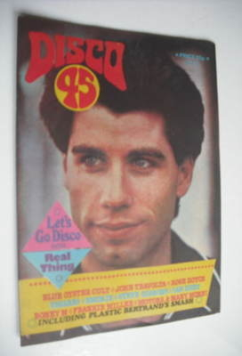<!--1978-06-->Disco 45 magazine - No 92 - June 1978 - John Travolta cover