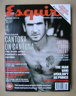 <!--1995-11-->Esquire magazine - Eric Cantona cover (November 1995)