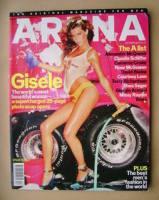 <!--2000-12-->Arena magazine - December 2000 - Gisele Bundchen cover