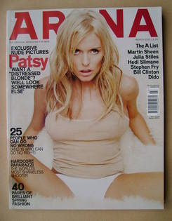 <!--2001-03-->Arena magazine - March 2001 - Patsy Kensit cover