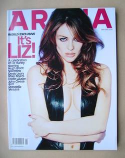 <!--2001-05-->Arena magazine - May 2001 - Liz Hurley cover