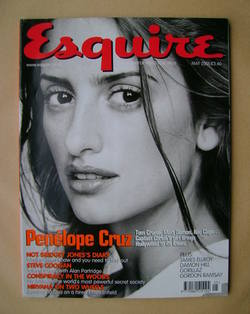 <!--2001-05-->Esquire magazine - Penelope Cruz cover (May 2001)