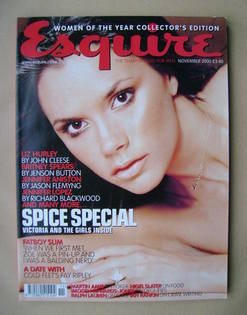 <!--2000-11-->Esquire magazine - Victoria Beckham cover (November 2000)