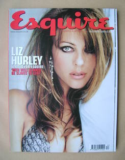<!--2000-12-->Esquire magazine - Liz Hurley cover (December 2000)