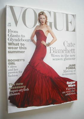 <!--2005-06-->British Vogue magazine - June 2005 - Cate Blanchett cover