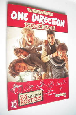 The Official One Direction Poster Book (November 2012)