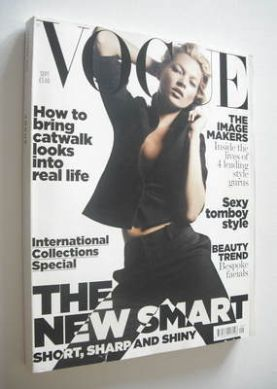 <!--2006-09-->British Vogue magazine - September 2006 - Kate Moss cover