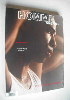 Arena Homme Plus magazine (Spring/Summer 2004 - Thierry Henry cover)