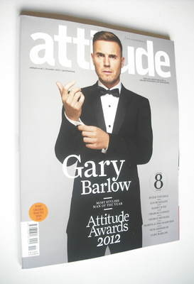 <!--2012-11-->Attitude magazine - Gary Barlow cover (November 2012 - Issue
