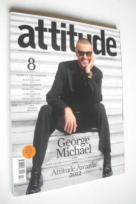<!--2012-11-->Attitude magazine - George Michael cover (November 2012 - Iss