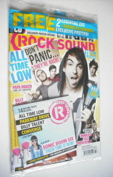 Rock Sound magazine - All Time Low cover (November 2012)