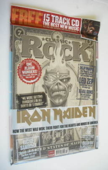 Classic Rock magazine - October 2012 - Iron Maiden cover