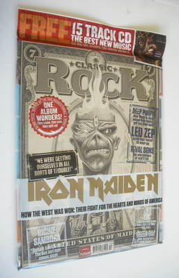 <!--2012-10-->Classic Rock magazine - October 2012 - Iron Maiden cover