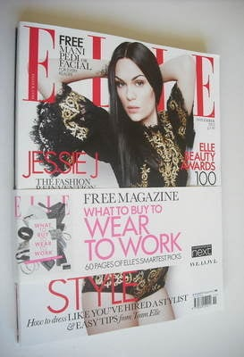 <!--2012-11-->British Elle magazine - November 2012 - Jessie J cover