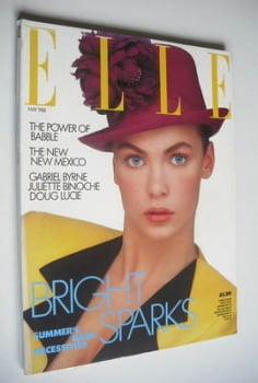 British Elle magazine - May 1988