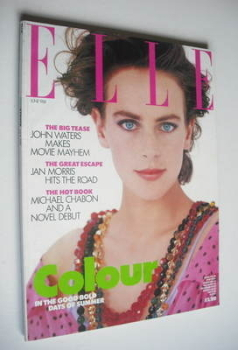 <!--1988-06-->British Elle magazine - June 1988