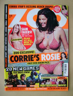 <!--2010-10-15-->Zoo magazine - Helen Flanagan cover (15-21 October 2010)