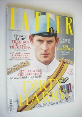 <!--2012-11-->Tatler magazine - November 2012 - Prince Harry cover