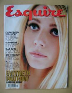 <!--2001-02-->Esquire magazine - Gwyneth Paltrow cover (February 2001)