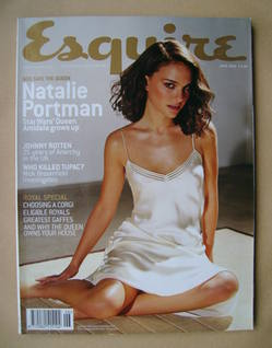 <!--2002-06-->Esquire magazine - Natalie Portman cover (June 2002)
