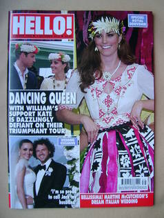 <!--2012-10-01-->Hello! magazine - Kate Middleton cover (1 October 2012 - I