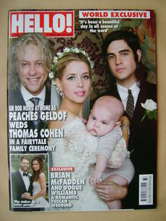 <!--2012-09-17-->Hello! magazine - Peaches Geldof and Thomas Cohen Wedding