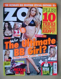 <!--2010-09-03-->Zoo magazine - Chantelle Houghton cover (3-9 September 201