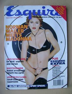 Esquire magazine - Madonna cover (September 1994)