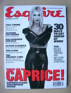<!--1997-09-->Esquire magazine - Caprice cover (September 1997)