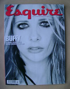 <!--2001-01-->Esquire magazine - Sarah Michelle Gellar cover (January 2001)