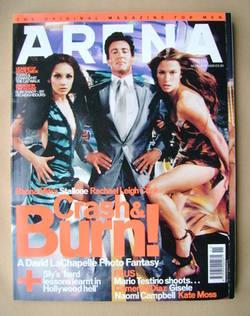 <!--2000-11-->Arena magazine - November 2000 - Rhona Mitra, Sylvester Stall
