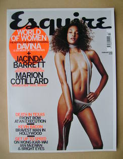<!--2005-02-->Esquire magazine - Davina Mulimbi cover (February 2005)