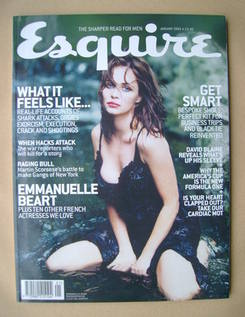 <!--2003-01-->Esquire magazine - Emmanuelle Beart cover (January 2003)