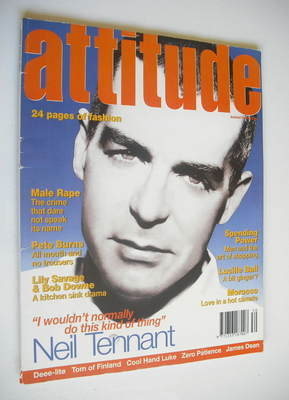 <!--1994-08-->Attitude magazine - Neil Tennant cover (August 1994)