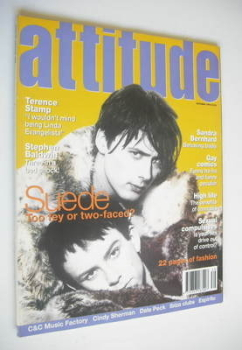 Attitude magazine - Suede cover (October 1994)