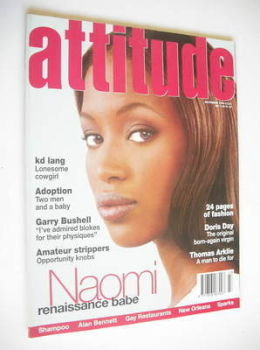 Attitude magazine - Naomi Campbell cover (November 1994)