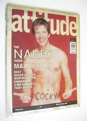 <!--2000-10-->Attitude magazine - Max Beesley cover (October 2000)